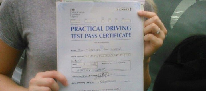 Jordanna Passed first time
